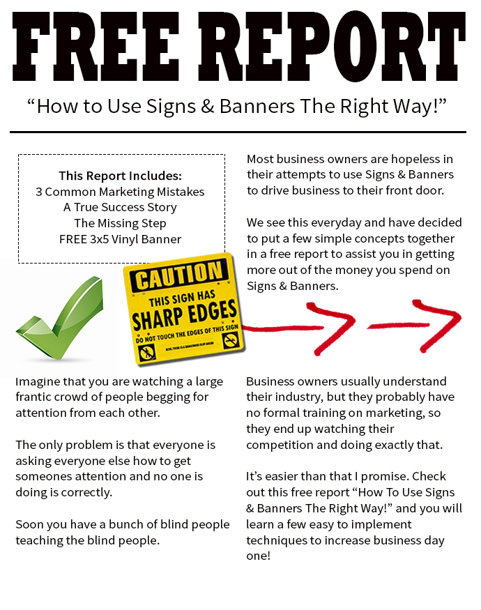 free report page